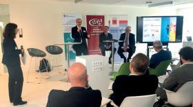 Jérôme D'Assigny (Ademe), Philippe Guerand (CCI) et Serge Vidal (CMA)