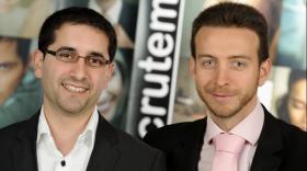 Cyril Capel et Lionel Deshors, cofondateurs de CCLD Recrutement.
