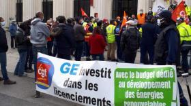 Restructuration chez General Electric: la mobilisation se poursuit à Villeurbanne et Saint-Priest