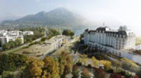 Annecy dévoile l'avant-projet de son centre de congrès