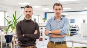 Hubert Dubois et Louis Bonduelle, cofondateurs de Chez Nestor, brefeco.com