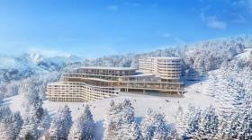 Le Club Med des Arcs offrira 410 chambres et 24 suites.