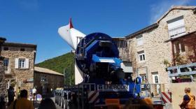 Le parc éolien de Saint-Georges-les-Bains prend forme
