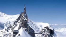 Le Pipe prend forme à l'Aiguille du Midi