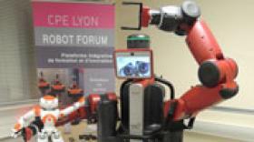 CPE Lyon présente le robot Baxter