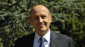 Raphaël Appert,  directeur général du Crédit Agricole Centre-est.