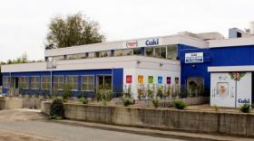 Le magasin d'usine de Cuki sur le site historique de Volpiano.