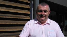 Philippe Delaplacette, président du syndicat mixte Rives du Rhône et par ailleurs maire de Champagne (Ardèche).
