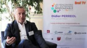 """VIDEO RSE : Didier Perréol : """"La RSE est simplement un moyen de calibrer la vie de l'entreprise"""""""