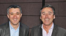 Jean-Pierre Genoux et Guillaume Mulliez de Dimo Software.