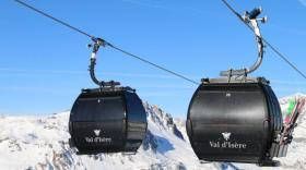 Doppelmayr a livré cette télécabine à Val d'Isère.