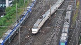 Entre les trains à grande vitesse et les TER, Railcoop devra jouer des coudes à Lyon Part Dieu.