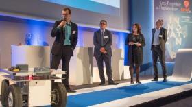Saga #7 Trophées de l'innovation Bref Eco : Projet Baudet Rob, lauréat duLab Meeting