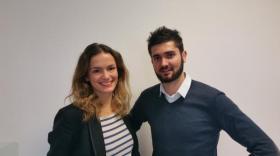 Eléonore Blondeau et Lionel Amieux