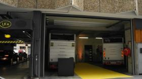 Espace de logistique urbaine dans le parking LPA de Cordeliers - bref eco
