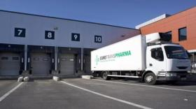 Camion Eurotranspharma, filiale du groupe EHDH, brefeco.com