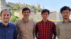 Côme Fouques, Adrien Plat, Pablo Larvor et Romain Koenig, brefeco.com