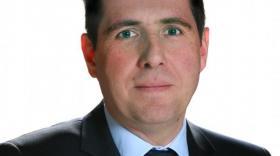 Florent Pigeon nouveau président de l'Université de Saint-Étienne.