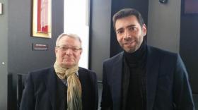 François Gindre (directeur de LPA) et Louis Pelaez (PDG de LPA).
