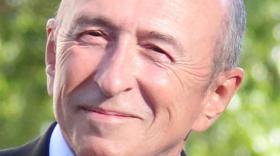 Gérard Collom, ministre de l'Intérieur