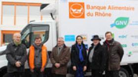 GRDF et la Banque Alimentaire du Rhône s'associent