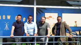 Aymeric Léger, Olivier Pochard, Madjid Chamekh et Ludovic Perrot sont les cofondateurs du Grow Spot.