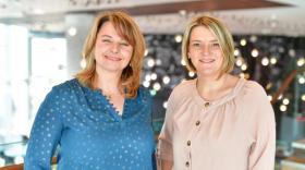 "Myriam Scoul et Magali Cuoq, fondatrices de ""Hello Tribu"" brefeco"