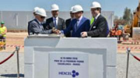 Hexcel pose la première pierre d'une nouvelle usine au Maroc