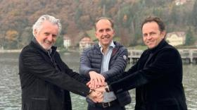 Michel Porcel, Alexandre Barral-Cadière et Daniel Garnier
