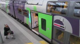 TER en gare de Lyon Perrache