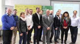 Les lauréats à la Métropole grenobloise pour présenter leurs dossiers. Bref eco.com