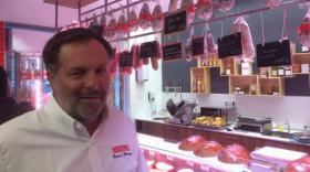 Bruno Bluntzer, dans la nouvelle boutique Sibilia de Lyon Croix Rousse.