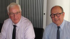 Jean-Claude Ruysschaert et Denis Cuvillier, brefeco.com