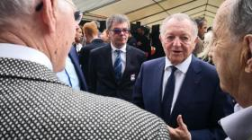 """Avec son Club Actionnaires, Jean-Michel Aulas veut """"accroître le lien avec nos actionnaires fidèles qui, pour beaucoup d'entre eux, nous accompagnent depuis de nombreuses années."""""""