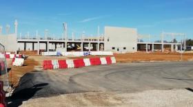 La nouvelle plateforme logistique de Mabéo est en cours de construction. Elle sera opérationnelle en 2022.
