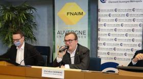 Christian Dosmas, président de la FNAIM Auvergne.