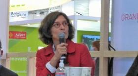 Emeline Baume présente la nouvelle plateforme d'évaluation d'impacts destinée aux entreprises