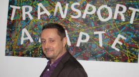 Philippe Mandier au siège de TC à Saint-Genis-Laval Bref Eco