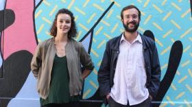 Suzon Marin et Guillaume Senechal s'occupe de la communication et de la gestion du projet.