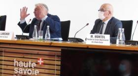Montagne : Gérard Larcher à la rencontre des élus et des professionnels à Annecy