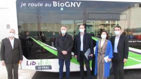 Le Sytral reçoit son premier bus au GNV