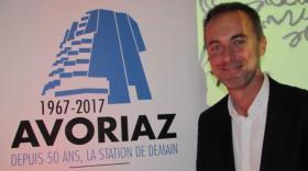 Stéphane Lerendu, directeur de la station d'Avoriaz.