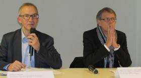 Gilles Cheval et Jean-Christophe Archambault