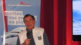 Henri Giscard d'Estaing, président du Club Med.