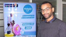 Fabrice Monteiro, responsable du dévloppement de Naya Club