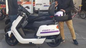 Indigo scooter - Bref Eco
