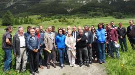 La Haute-Maurienne inaugure des réseaux d'irrigation.