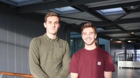 Daniel Bodenheimer et Léo Bertau, brefeco.com