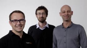 Jean-François Longy, Nicolas Claraz et David Bonnamour, dirigeants de CyberCité.