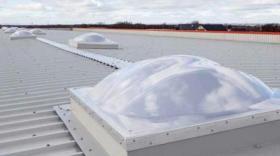 Ecodis a développé un lanterneau d'éclairement naturel, qui offre une transmission lumineuse supérieure à 80 %